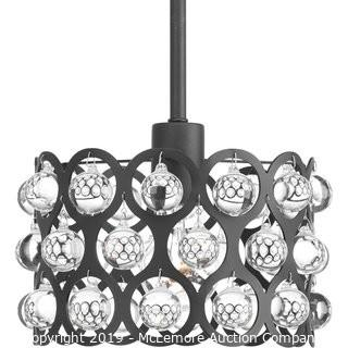 Progress Lighting Vestique One-Light Mini-Pendant in Graphite