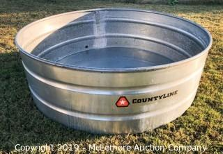 Countyline by Tarter Farm and Ranch Equipment 390 Gallon Galvanized Water Stock Tank
