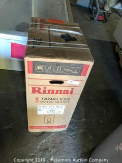 Rinnai Tankless Natural Gas Water Heater