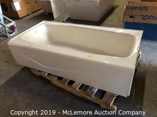 Cast Iron Porcelain Finish Bath Tub