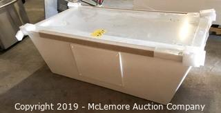 MTI Fiberglass Soaking Bath Tub