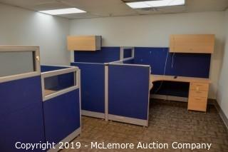 (3) Office Desks