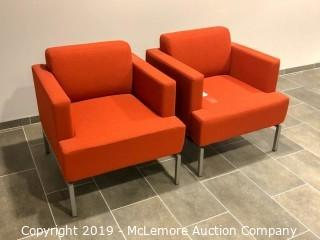 (2) Pair of Armchairs