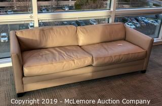 Leather Couch by Williams Sonoma Home