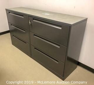 6 Drawer Metal Filing Cabinet