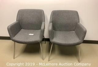 Pair of Cloth Chairs