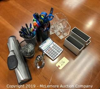 Assortment of Office Supplies