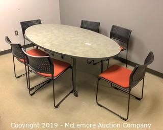 Conference Table & Chairs