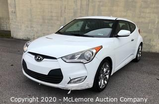 2014 Hyundai Veloster with a 1.6L L4 DOHC 16V Engine