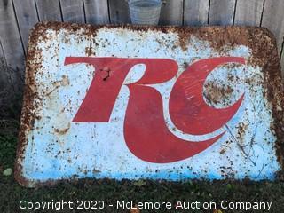 Vintage RC Cola Sign