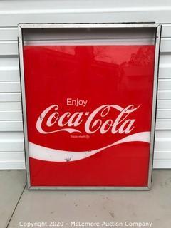 """Coca Cola Sign 25"""" x 20"""""""