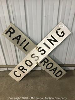 Aluminum Railroad Crossing Sign