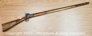 Antique U.S. Springfield Military Percussion Musket