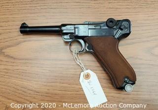 WWII German P'08 Luger Pistol