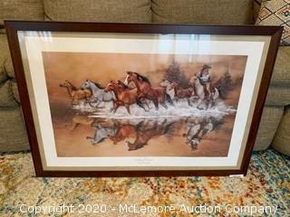 Stolen Horses Framed Print by Jack Sorenson