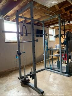 Squat Rack with Pull-Up Bar