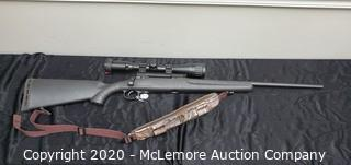 Savage Arms Edge Bolt Action Hunting Rifle with Strap and Scope