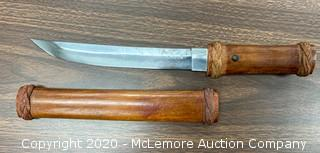 Japanese Dagger with Bamboo Grip