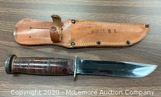 Western Hunting Knife