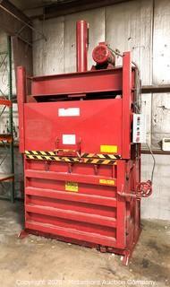 """Holt HP 60"""" Vertical Cardboard Compactor/Baler"""