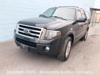 2011 Ford Expedition Limited 4x4 with a 5.4L V8 SOHC 16V FFV Engine