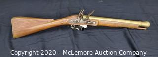 Lott Brass Barrel Blunderbuss Flintlock Musket