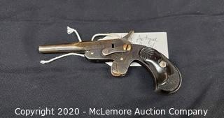 Antique Single Shot Pocket Pistol