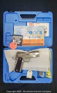Springfield Armory Champion .45 Centerfire Pistol