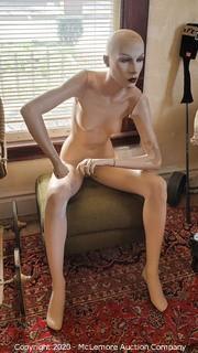 ca.1980's Department Store Mannequin