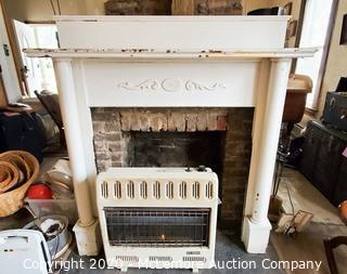 Solid Wood Fire Place Mantel