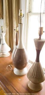 (x4) Original Mid Century Lamps