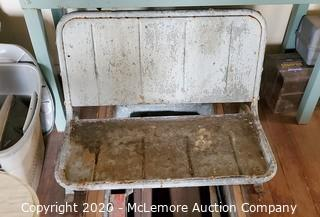 1946 Jeep Back Seat