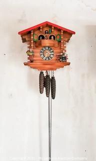 Solid Wood German Cuckoo Clock