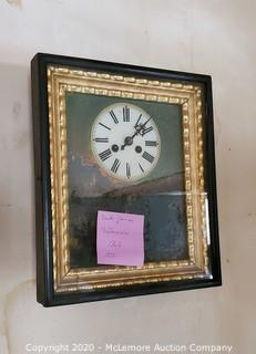 1830's South German Biedermeier Wall Clock
