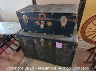 Pan Am Travel Trunk with Other Trunk