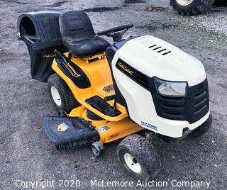 "Cub Cadet LTX1046 Riding Mower 46"" 22 HP with Dual Bagging System"