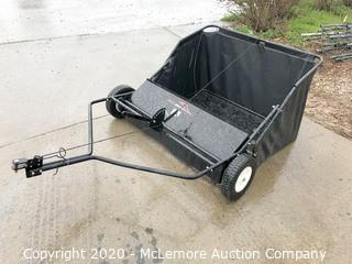 "Brinly 42"" Tow-Behind Ground Drive Lawn Sweeper"