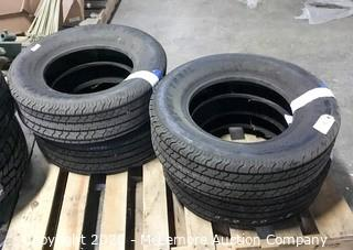 Set of 4 Carlisle Sports Trail Trailer Tires ST215/75D14