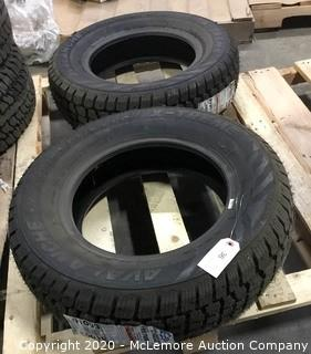 Set of 2 Hercules Avalanche X-Treme Tires 195/70R14