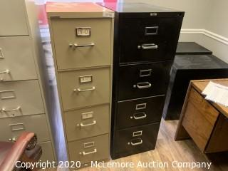2 4 Drawer File Cabinets