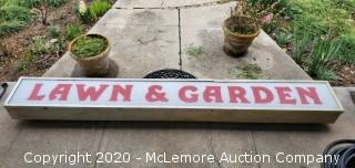 Commercial Lawn and Garden Sign