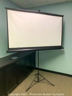 "75"" Projector Screen"