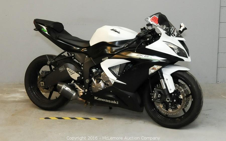 McLemore Auction Company - Auction: 2014 Kawasaki Ninja ZX
