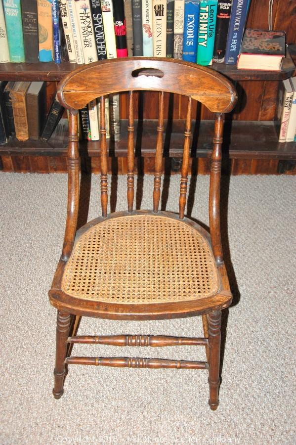 antique cane seat chairs McLemore Auction Company   Auction: Antiques Including Dolls, Coca  antique cane seat chairs