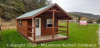 Woodtex 12' x 28' Woodland Cabin