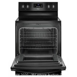 Whirlpool Smooth Surface 4 Elements 5.3-cu ft Self-Cleaning Freestanding Electric Range