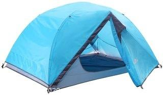 CampLand 2 Person Backpacking Tent with Rainfly Lightweight 4 Seasons Waterproof 2 Doors for Camping