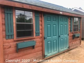 Woodtex 10' x 16' Heritage Shed - Located in Monroe, GA