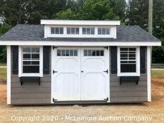 Woodtex 10' x 16' Heritage Shed w Dormer - Located in Monroe, GA