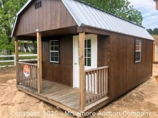 Woodtex 12' x 20' Jackson Shed - Located in Monroe, GA